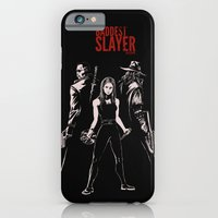 iPhone & iPod Case featuring The Baddest Slayer Alive by Alan Bao