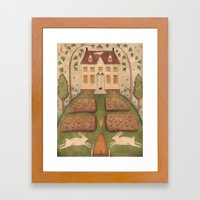 Bunny Hill Framed Art Print