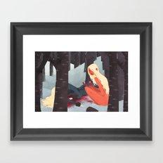 Doppelganger Framed Art Print