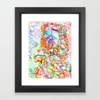 City of Glass Framed Art Print