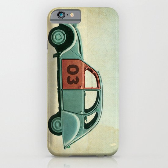 Number 03 _ Citron 2CV iPhone & iPod Case