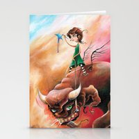 Peace That Conquered Beast Stationery Cards