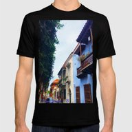 Cartagena Has Stolen My … Mens Fitted Tee Black SMALL