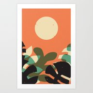 Jungle Sun #2 Art Print