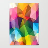 Geometric View Canvas Print