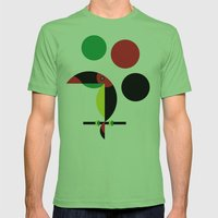 Tucan Mens Fitted Tee Grass SMALL