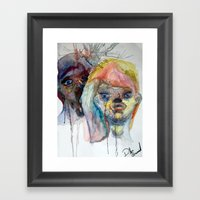 Disease  Framed Art Print