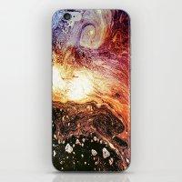 Galaxy iPhone & iPod Skin