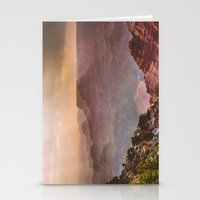 Grand Canyon Rainfall - … Stationery Cards