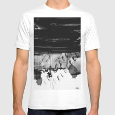 code Mens Fitted Tee SMALL White