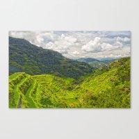 Banaue Rice Terraces Phi… Canvas Print