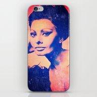 Sophia II iPhone & iPod Skin