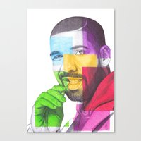 Drake Hotline  Canvas Print