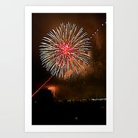 4th of July Art Print