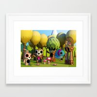 The TreeBorn Gang Framed Art Print