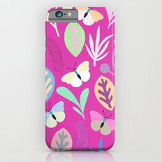 Flower and Butterfly iPhone 6 Slim Case