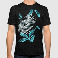 After The Rain Mens Fitted Tee Tri-Black SMALL