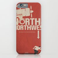 North by Northwest - Alfred Hitchcock Movie Poster iPhone 6 Slim Case