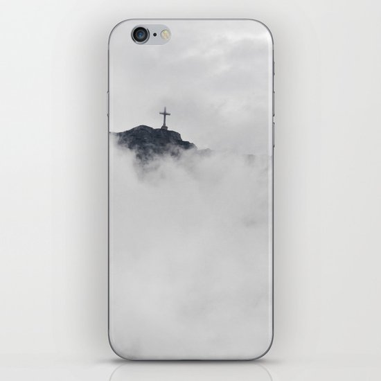 Foggy Faith iPhone & iPod Skin