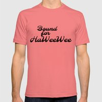 HaWeeWee Bound Mens Fitted Tee Pomegranate SMALL