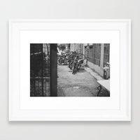 Remnants of Summer Framed Art Print