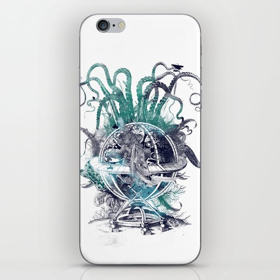 strange artefact amusement park iPhone & iPod Skin