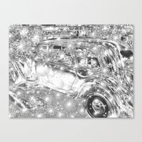 The fabulous life in bling! Canvas Print