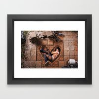 The Wrong Kind of Love Framed Art Print