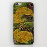 iPhone & iPod Skin featuring De MixFlowers by Jule De Cule