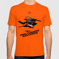 Inglourious Basterds Mens Fitted Tee Orange SMALL