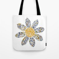 Mosaic Flower 002 Tote Bag