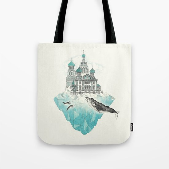 st peters-burg Tote Bag