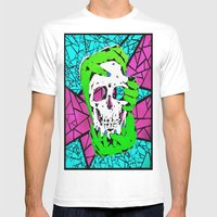 Death Grip #2 Mens Fitted Tee White SMALL