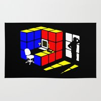 Rubix Cubicle Rug