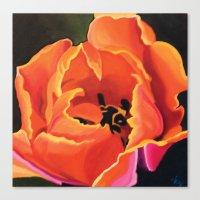 Princess Irene Tulips II Canvas Print