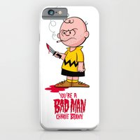 You're a Bad Man Charlie Brown iPhone 6 Slim Case