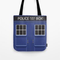 Tardis - Doctor Who Tote Bag