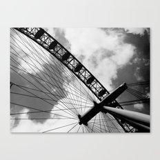 London - The Eye Canvas Print