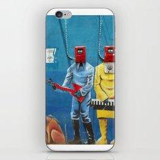Street Art Men 6 iPhone & iPod Skin