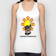 16-bit Andres Bonifacio Unisex Tank Top