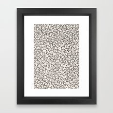 A Lot of Cats Framed Art Print