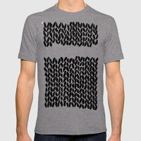 Missing Knit     Mens Fitted Tee Tri-Grey SMALL