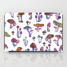 mushrooms iPad Case