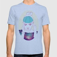 GRIMES Mens Fitted Tee Athletic Blue SMALL