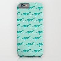 D for Dinosaur Origami iPhone 6 Slim Case