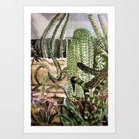 Southwest Garden Art Print