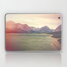 Retro Mountain Lake Laptop & iPad Skin