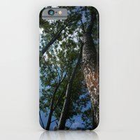 iPhone & iPod Case featuring Trees by Jasmin Bogade