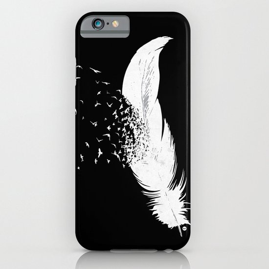Birds of a Feather (Black) iPhone & iPod Case