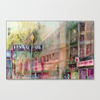 World Series 2013 Fenway Park - Red Sox  Canvas Print
